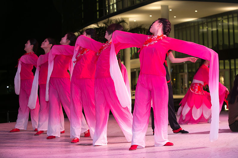 UM student performace during Lunar New Year