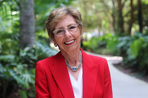 alumna Nancy Harris Bailey, B.B.A. '66