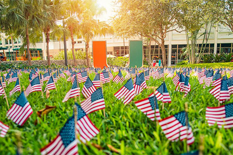 Veterans have long played a significant role in shaping the University of Miami. With only 1,923 students in 1945, the University more than tripled its enrollment to 6,902 the following year as returning servicemen filled classrooms.