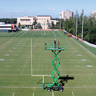 UM Outdoor Football Practice Field