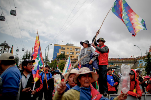 Bolivia faculty expert Calla Hummel had front row seats—and a personally unnerving but false connection—to the turmoil that sparked Evo Morales' resignation.