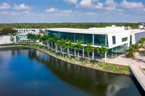 The University of Miami transitioned to online learning and working remotely amid the COVID-19 pandemic. Photo: TJ Lievonen/University of Miami