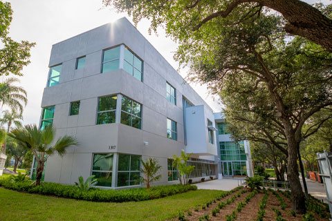 'Canes Central is the new student-centered, service-oriented department. Photo: Mike Montero/University of Miami