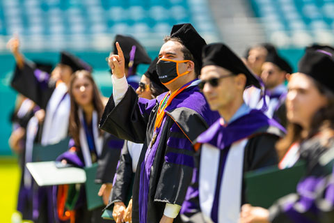 University of Miami School of Law graduates