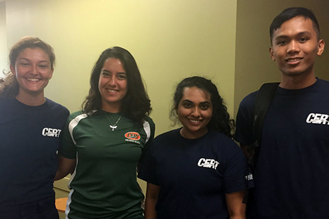student-run 'Canes Emergency Response Team