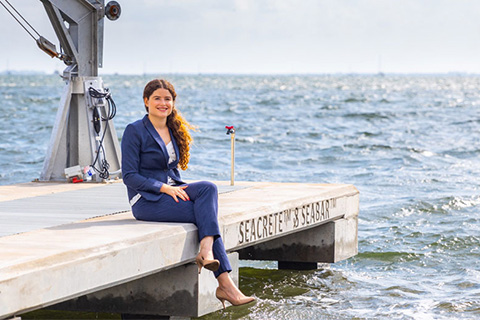 Vanessa Benzecry, a graduate student in the University of Miami College of Engineering, spearheaded the entire project.